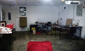 Sala principal del hackerspace de Dublin TOG