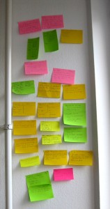Hackership post-its