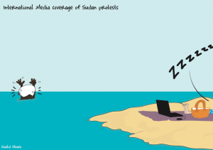 Cartoon: International coverage of Sudan revolts